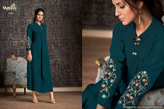 Vardan Designer Miraaz party wear kurtis wholesale and Manufacturer