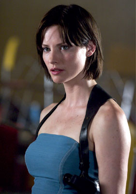 Kryptonian Warrior Resident Evil 5 Movie Sienna Guillory Back As Jill Valentine