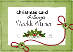 Christmas Card Challenge Winner