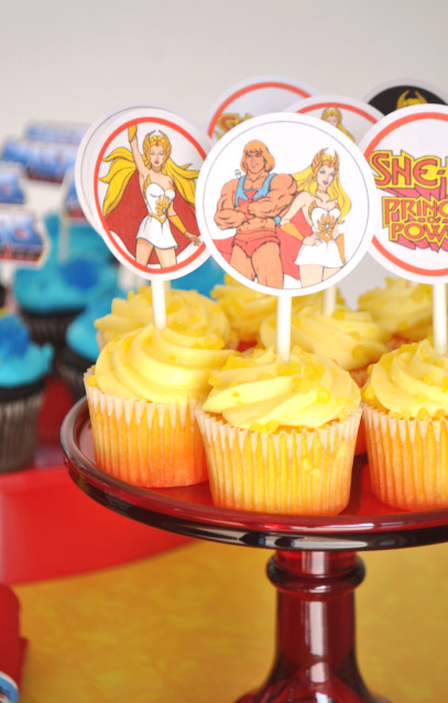 If You Want To Have A He Man And She Ra Party Can Buy The Printables From Karas Shop Here