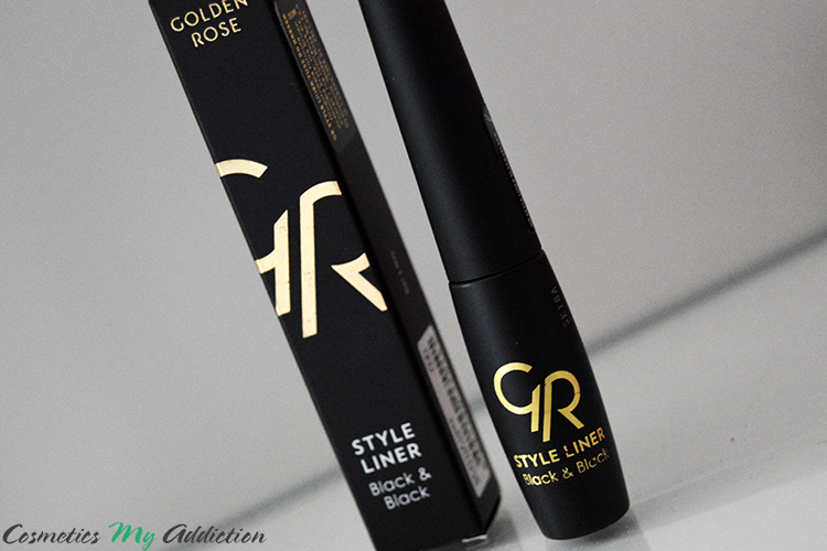 GOLDEN ROSE | Eyeliner idealny do idealnych kresek