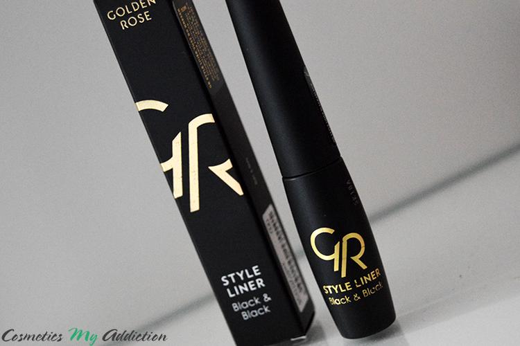GOLDEN ROSE | Eyeliner idealny do idealnych kresek