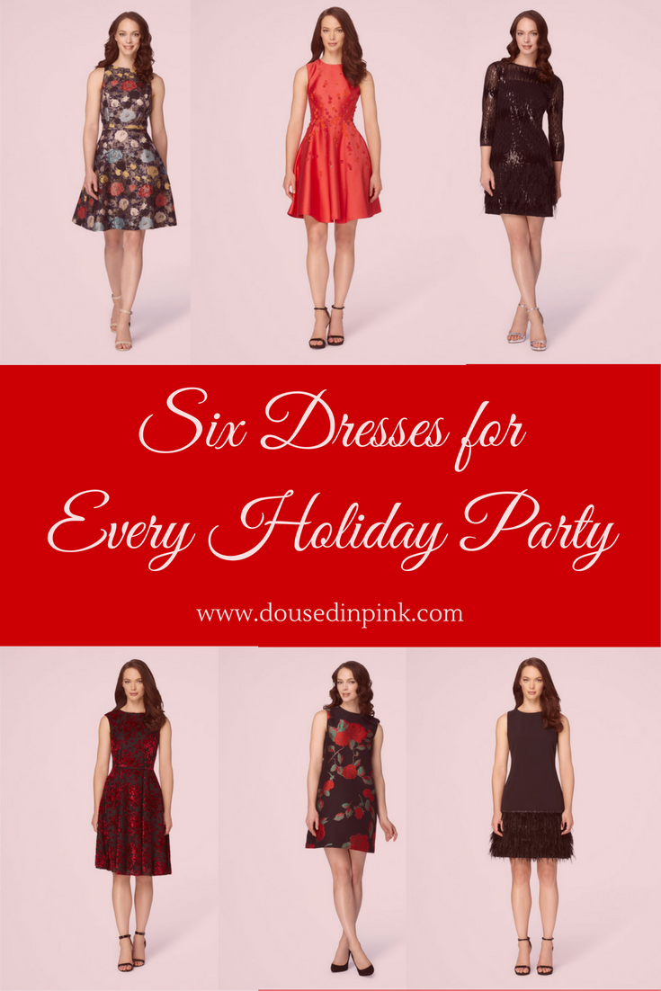 19c081c289 Six Dresses for Every Holiday Party - Doused in Pink | Chicago Style ...