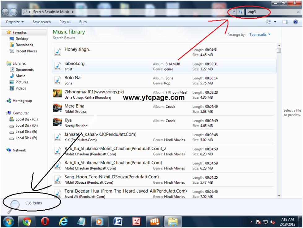 How To Check All MP3 Songs In Your Computer | Yuvaneeds