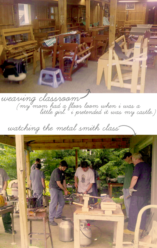 weaving and metal smith classes