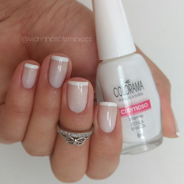 esmalte colorama petala branca