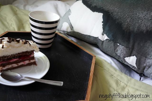 Ciastko, poduszka i muzyka czyli mój sposób na leniwy relaks