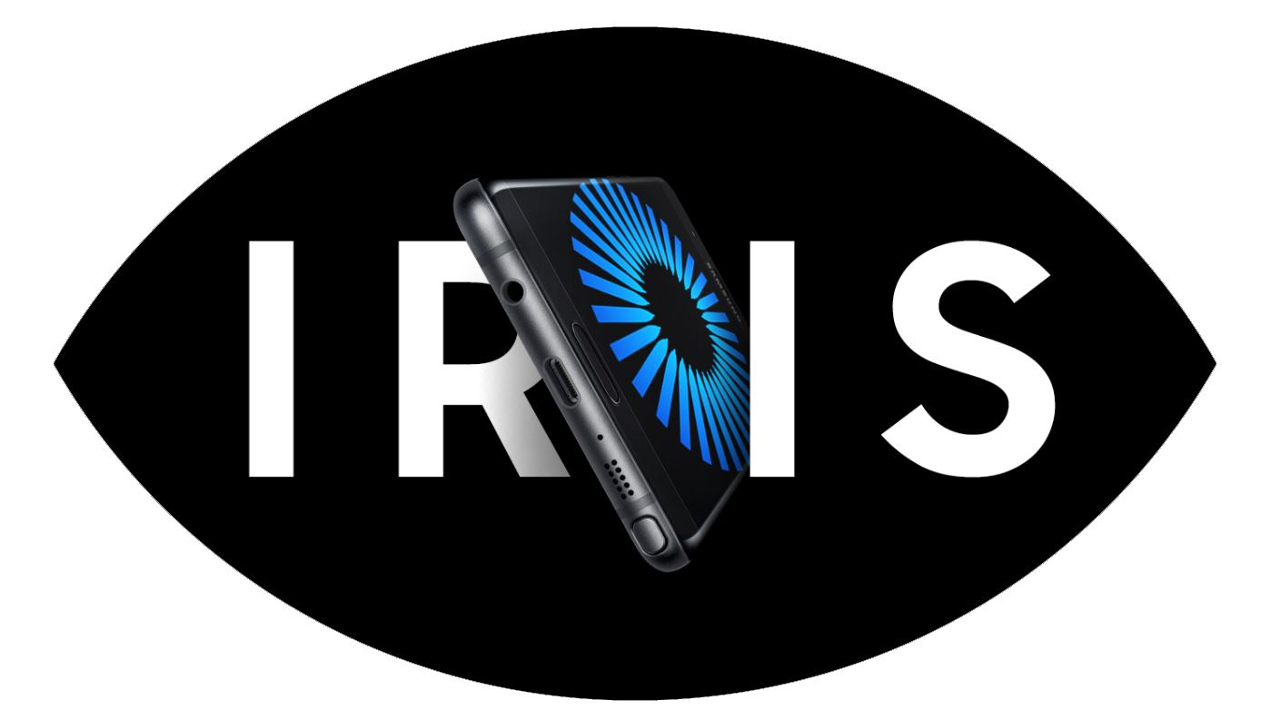 Il lettore dell'Iride del Samsung Galaxy Note 7 funziona anche al buio con poca luce
