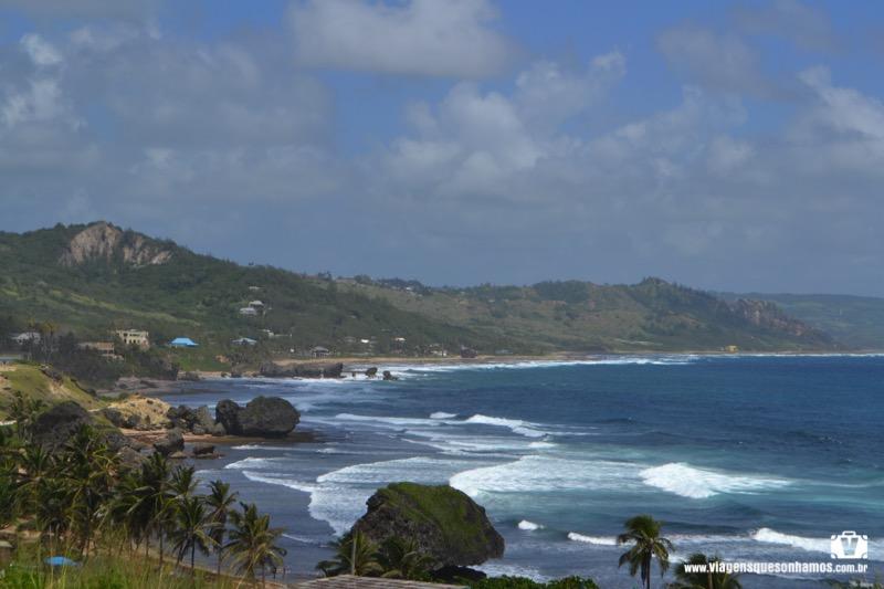 Surfar em Barbados