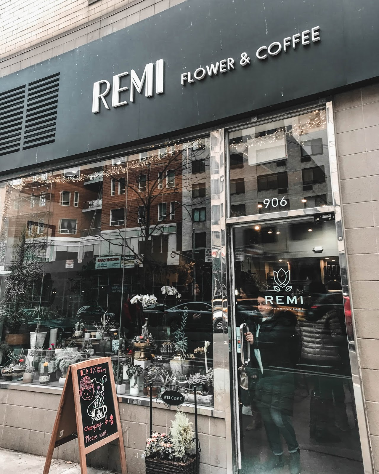 remi flower and coffee nyc