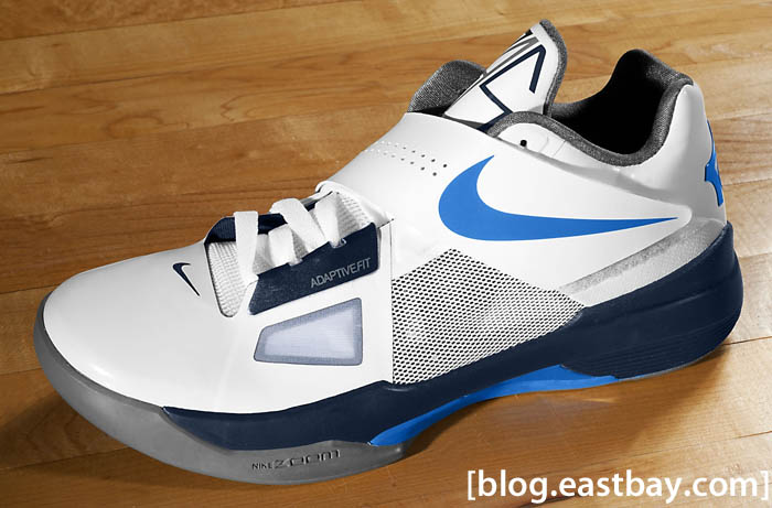 Lately there has been a slew of colorways for the Nike Zoom KD IV. Recently  released and now available for purchase is this all new white-based  colorway. abac28336f38