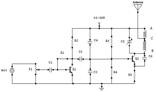 1 Watt simple FM Transmitter with 1-2 km range! ~ FM