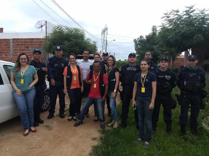 Vigilância Sanitária realiza ação conjunta em abatedouros de frango em Sobral