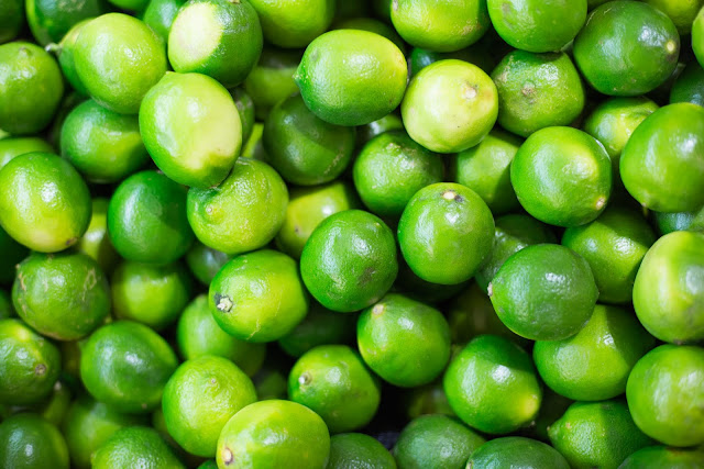 lime health benefit as a drink or in cooking recipe