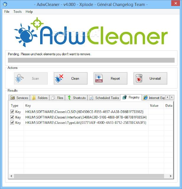 تنزيل برنامج AdwCleaner لحذف الفيروسات مجانا برابط مباشر