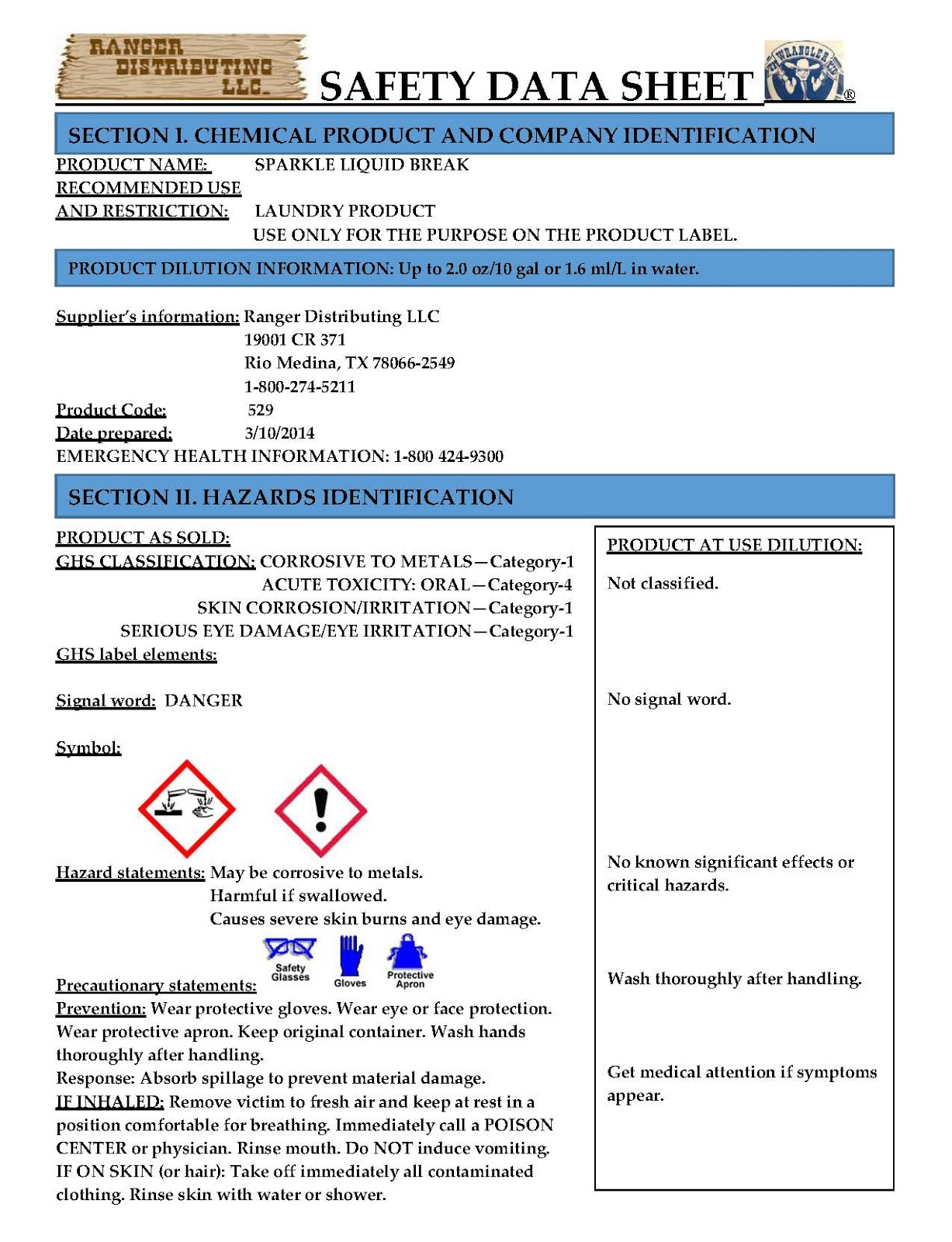 Color labels on demand september 2015 for Osha sds template