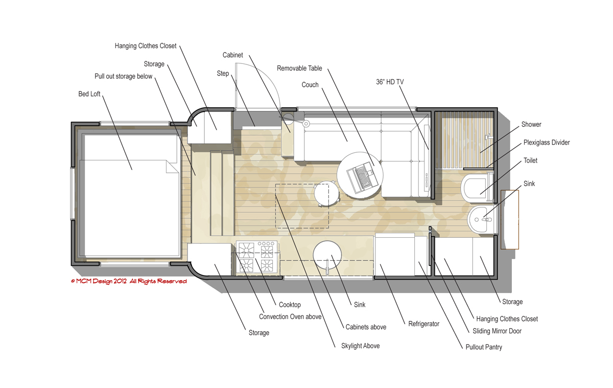 Mcm design custom motorhome design 2 Home plan and design