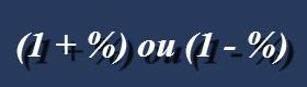 Fórmula do cálculo centesimal