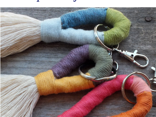 #Tuto : Des porte-clefs colorés