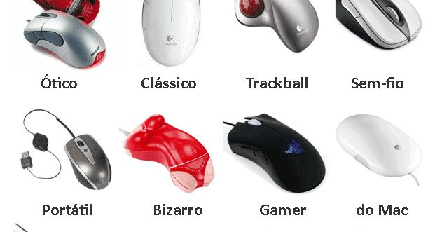 Pc a Dentro : Tipos de Mouses