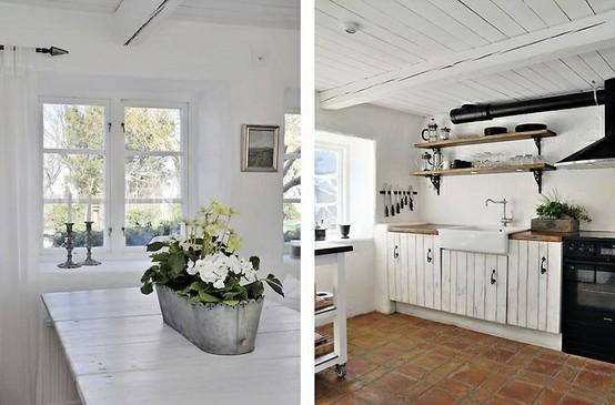 Atmosfere nordiche in cucina blog di arredamento e for Arredamento casa bianco