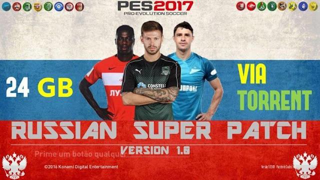 Russian Super Patch PES 2017