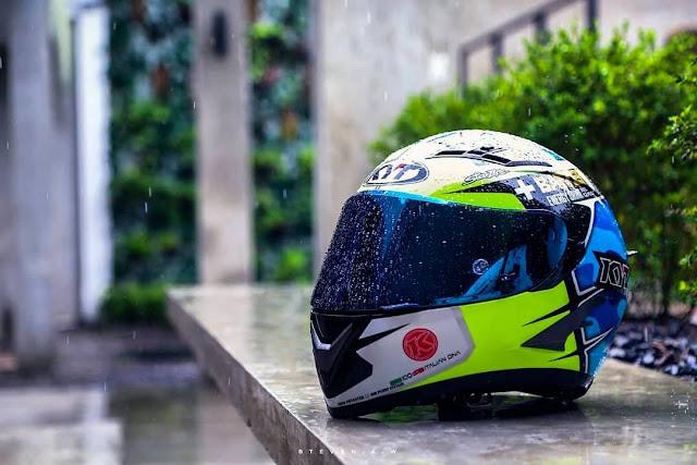 Kaca Helm yang Bisa dipakai Siang Malam