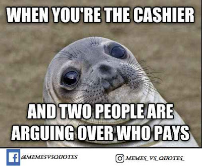 Customer Awkward Meme