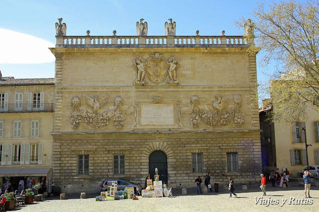 Hòtel des monnaies, place du palais, Avignon
