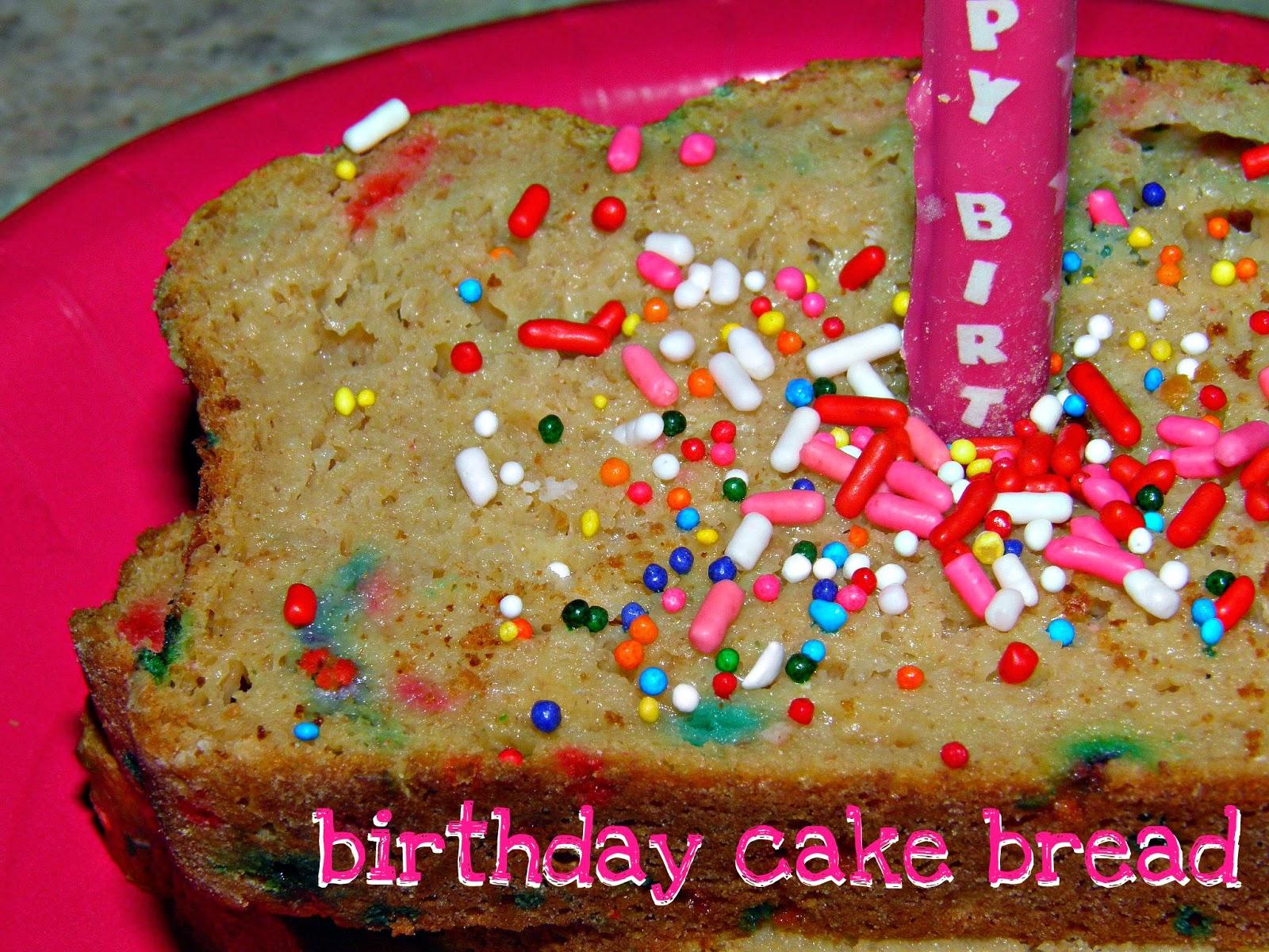 Bliss Birthday Cake Bread