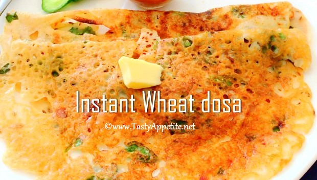 crispy wheat dosa
