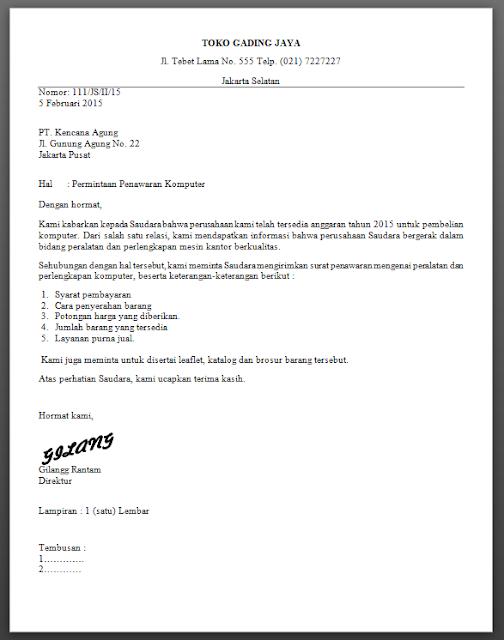 Contoh Surat Block Style Contoh Soal Dan Materi Pelajaran 8