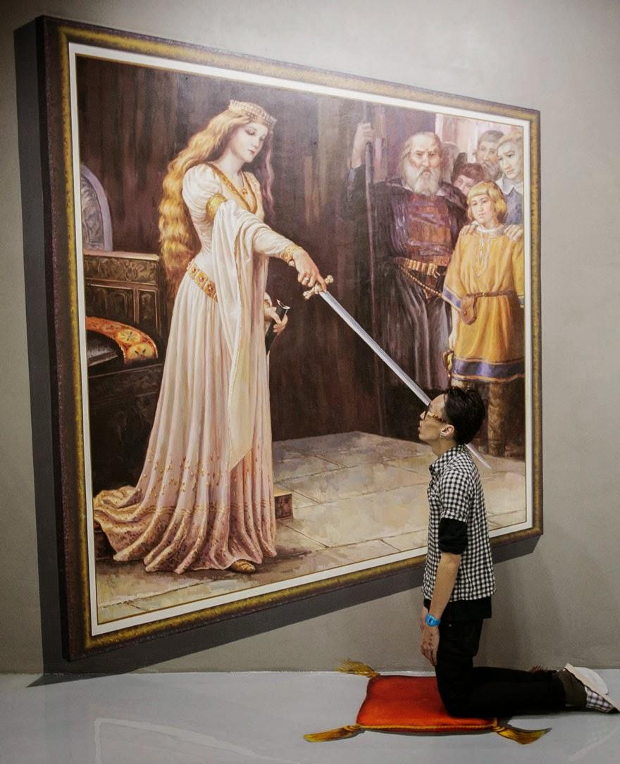 Muzej 3D umjetnosti u kojem nema zabrane.