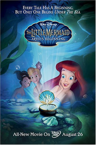 The Little Mermaid: Ariel's Beginning 2008 x264 720p Esub BluRay Dual Audio[ English Hindi] – 500MB