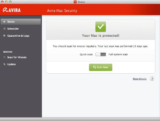 تحميل برنامج أفيرا أنتى فايروس 2018 Avira Antivirus مجانا