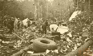 saptha kanya plane crash