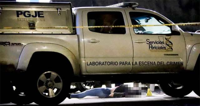 Ejecutan a pareja traficantes de droga y sicarios obligan a su hija a trasladar los cuerpos en cajuela de un automóvil en Tijuana