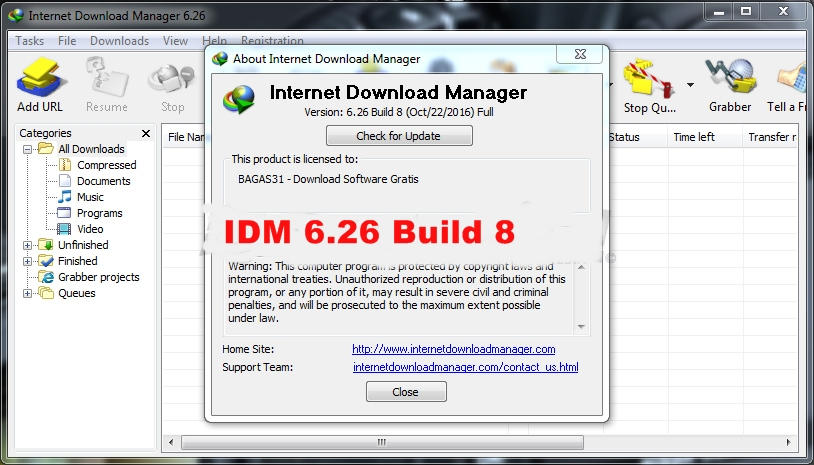 Patch download manager for all versions