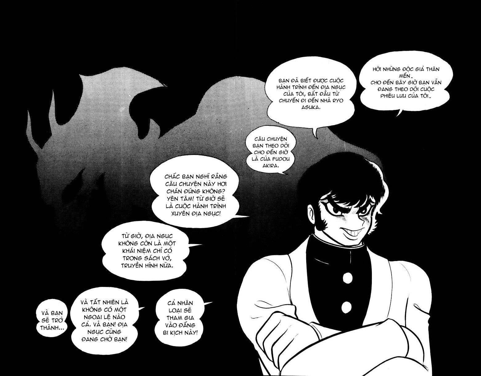 DevilMan chapter 15 trang 1