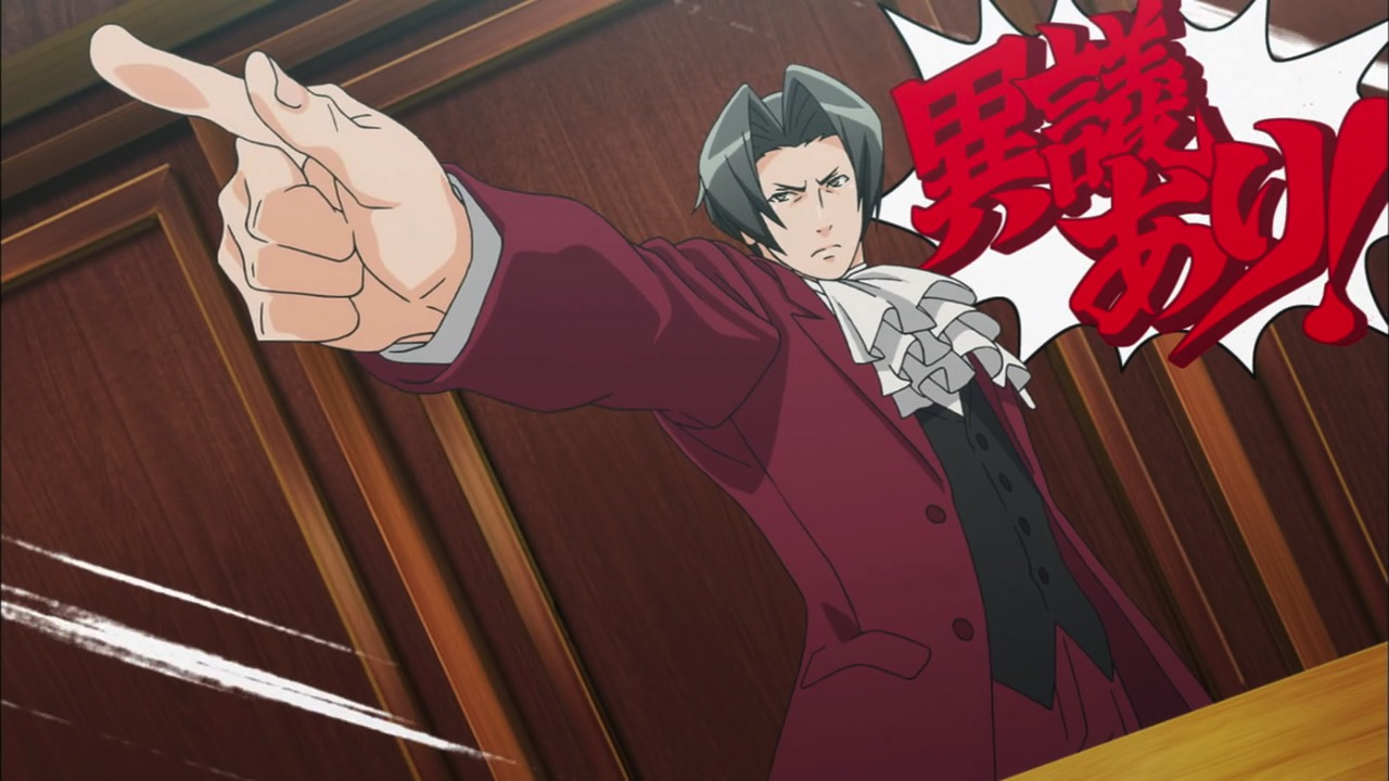 My Shiny Toy Robots Anime Review Ace Attorney