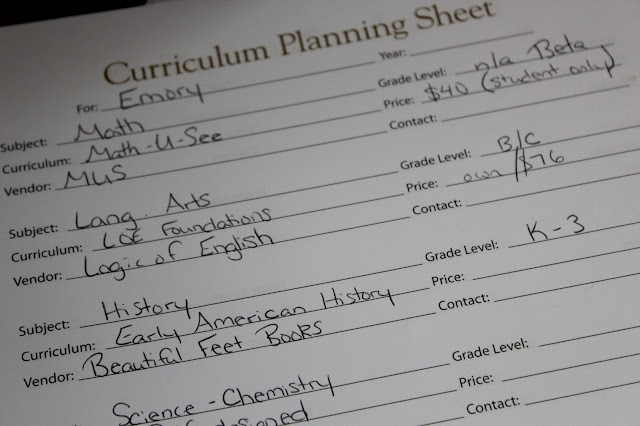 Hey Mama! Schoolhouse Planner (review)
