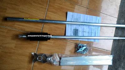 Isi dus antena VHF V2R D-antenna Taiwan.