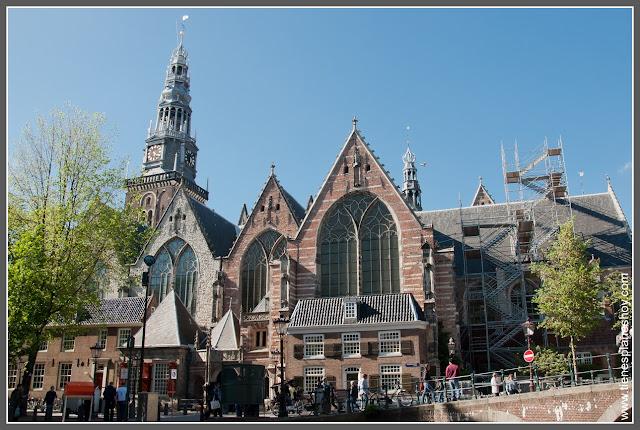Oudekerk Amsterdam (Paises Bajos)