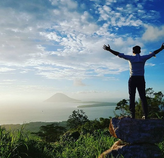 gunung tumpa wisata manado