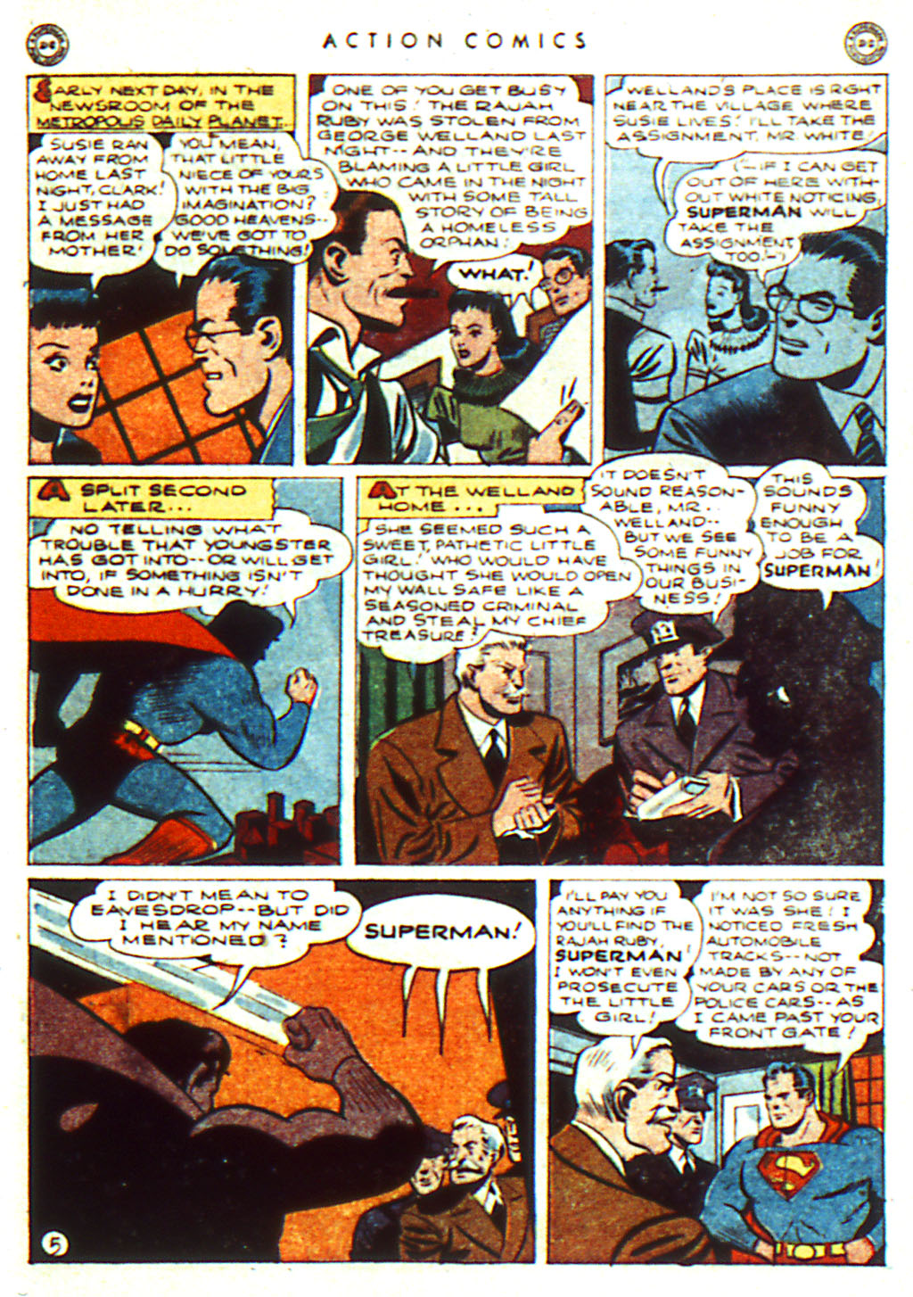 Read online Action Comics (1938) comic -  Issue #98 - 7