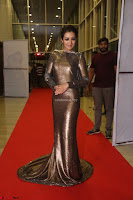 Actress Catherine Tresa in Golden Skin Tight Backless Gown at Gautam Nanda music launchi ~ Exclusive Celebrities Galleries 111.JPG