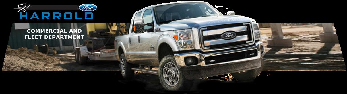 Harrold Ford Commercial Fleet Dept