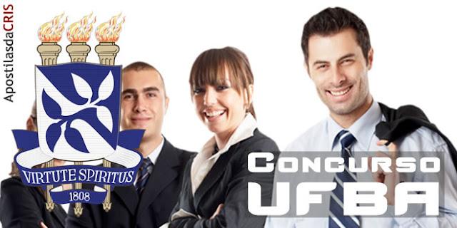 apostila concurso ufba assistente administrativo