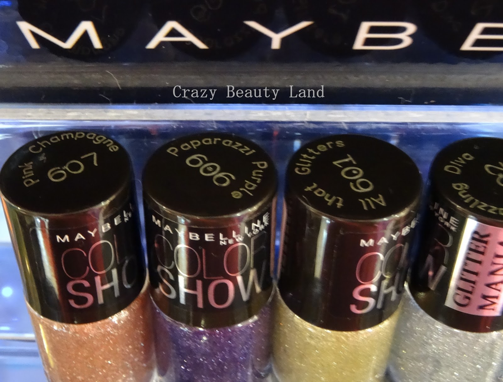 Maybelline Color Show Glitter Mania All Shades India