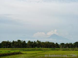 Senja indah di Janti Jatisarono Nanggulan Kulon Progo Yogyakarta